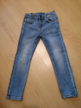 Spodnie dla chłopca rurki Denim