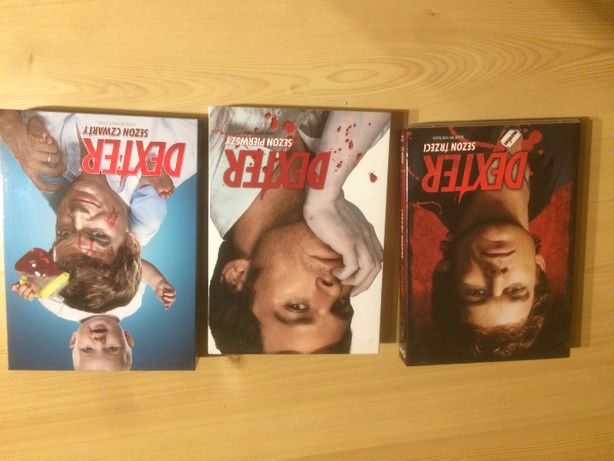 Dexter Sezon I i III DVD serial 1 i 3