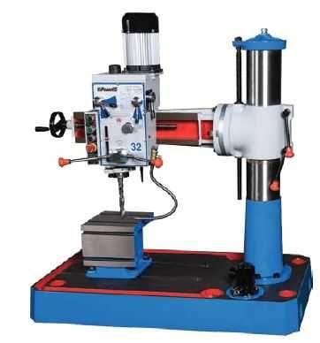 Engenho Furar Radial Máx. Furação 32 mm PGRD32