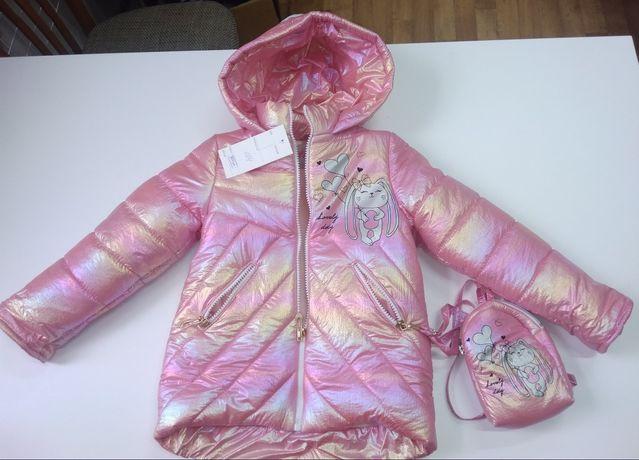 Демісезонна курточка для дівчаток