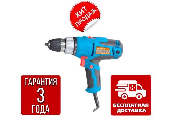 Дрель-шуруповерт сетевой (SOFT TOUCH, 500Вт) Sturm ID2150P