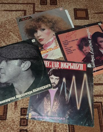 Пластинки музыкальные ссср