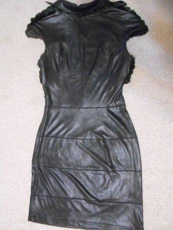 Шикарное чёрное платье nostalji 36 размер