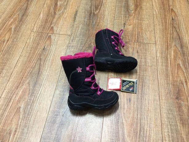 Ботиночки сапожки зимние на девочку черевики термо Superfit р.25(16см