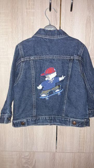 Джинсовая куртка 12-18мес.