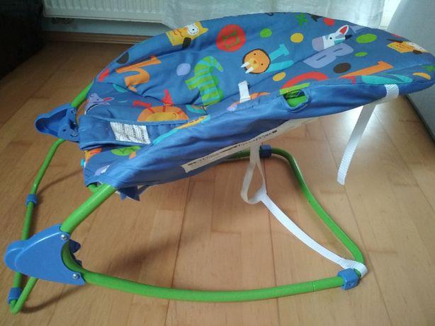 Leżaczek, leżak - bujak dla niemowlaka