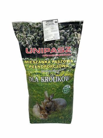 Pasza granulat dla królików UNIPASZ KDT 20 kg
