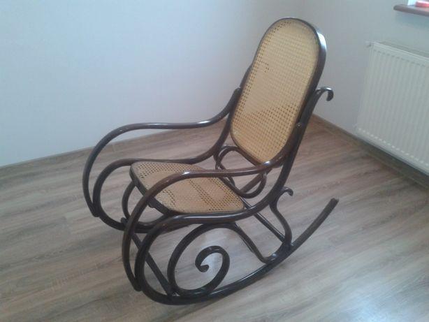 Fotel bujany drewniany antyk