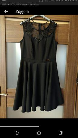 Sukienka L galowa czarna