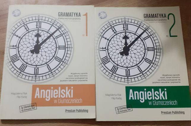 Książka gramatyka 1 i 2 angielski