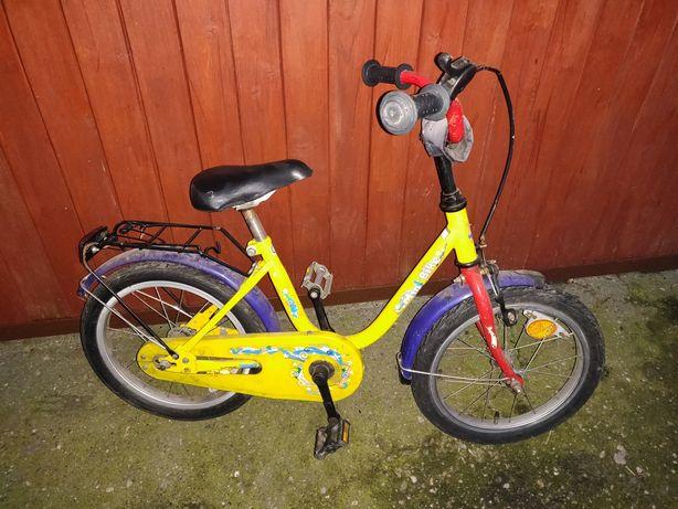 """Rowerek dla dziecka uniwersalny idealny do nauki jazdy koła 16"""""""