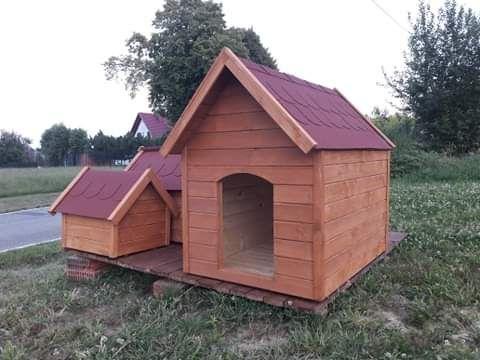 Budy dla psów małe i duże