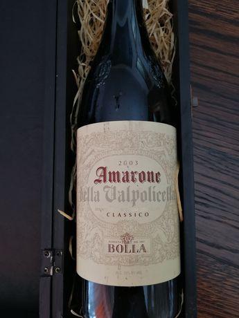 Wino Amarone della Valpolicella 2003 rok