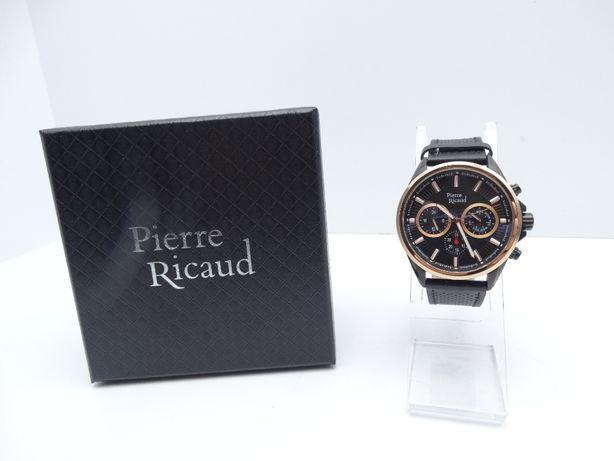 Zegarek Pierre Ricaud P60030.K214 Czarny LOMBARD66