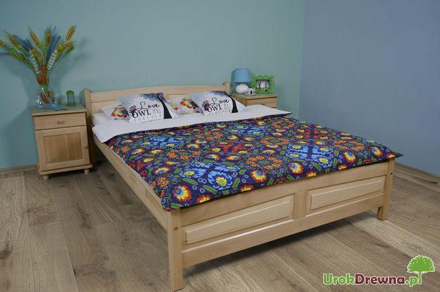 Łóżko do sypialni drewniane BUKOWE 90, 120, 140, 160 180x200 PRODUCENT