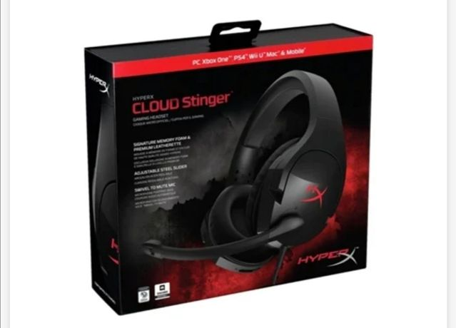 Headphones Gaming HYPERX Cloud Stinger (Com fio - Com Mi