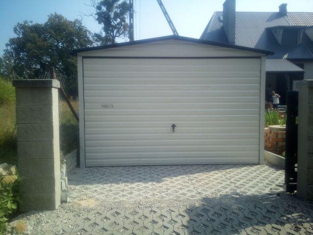 Garaż blaszany, garaże PRODUCENT, schowki, schowek na budowę blaszaki