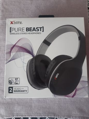 Słuchawki bezprzewodowe Xblitz Pure Beast