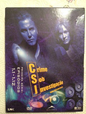 DVD Season I CSI (1-12)