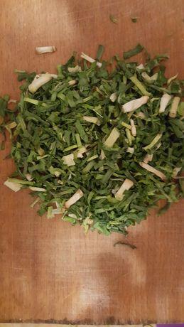 Лук зеленый сушеный лук сушеный зелень Лук репка сушеная
