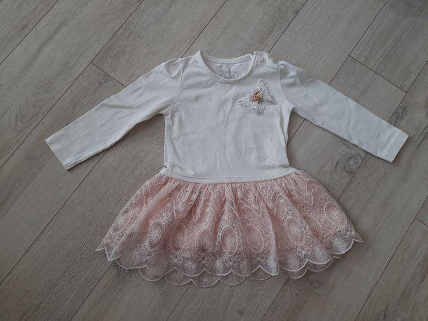 Нарядное платье breeze с длинным рукавом р.86см