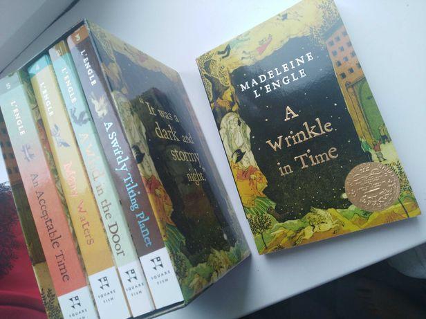 "5 книг на английском за 350 грн ""Складки времени"" ""A wrinkle in time"""