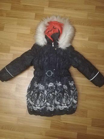 Куртка-пальто зимнее детское LENNE