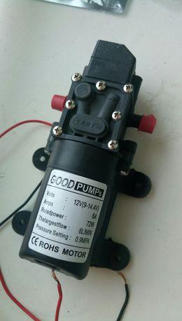 Водяной насос высокого давления. Мембранный. DC9-14,4 V. 72W. 6 л/мин