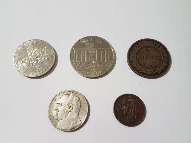 Монеты, Кролевец 400 років, Аскания нова, 5 копеек 1876