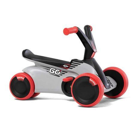 BERG Jeździk na pedały GO² Sparx Red Gokart 2w1 odpychacz