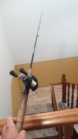 Cana de pesca G Loomis e carreto shimano curado