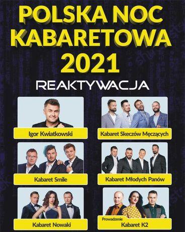 Polska Noc Kabaretowa Sopot Opera Leśna - 2 bilety obok siebie
