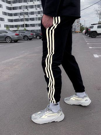Спортивные Штаны Adidas Reflective/Рефлективные Штаны Адидас/ АКЦИЯ!