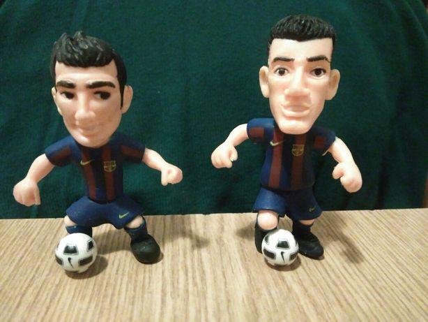 Figurki piłkarzy figurka piłkarze Sergio Fabregas gadżet FC Barcelona