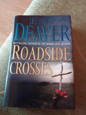 Książka Roadside crosses ang. Deaver