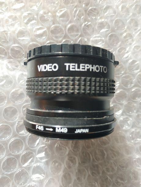 Фото объектив F46-M49 Video Telephoto 1,5x Japan
