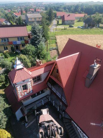 Malowanie dachów 22 zł m2 natryskowo i tradycyjnie