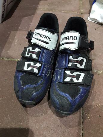 Buty rowerowe szosowe shimano m183 r 42