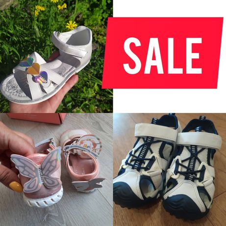 Распродажа детской обуви. Кожа! Том.м. босоножки. Последние размеры!