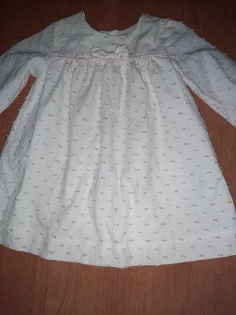 Vestido Chicco(como novo) 9meses/68cm