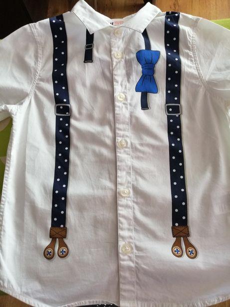 Koszula z krótkim rękawem H&M szelki 110