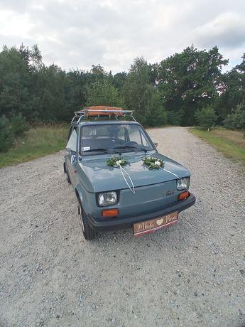 Fiat 126p wynajem na sesje zdjeciowe wesela przyjęcia