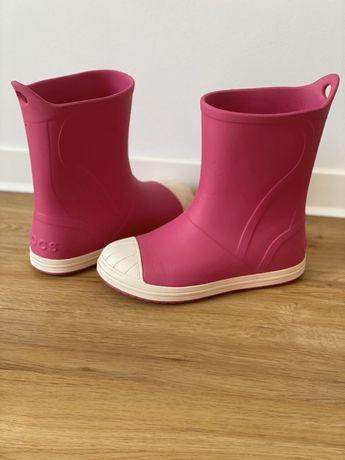 Crocs сапоги для девочки, размер 34-35