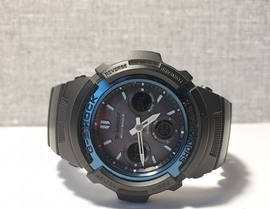 Мужские часы Casio G-Shock AWG-M100A-1AER Оригинал