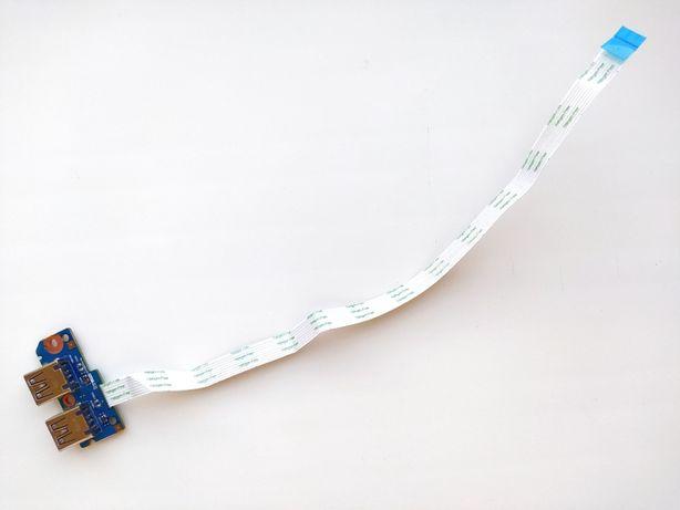 Плата с Usb портами и шлейфом для ноутбука HP 4730s