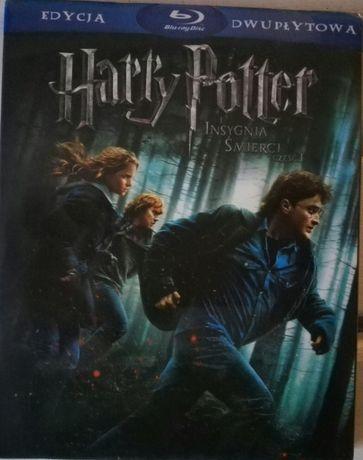"""""""Harry Potter i insygnia śmierci cz.1"""" Blu-Ray dubbing i napisy PL"""
