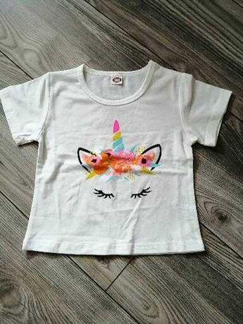Sprzedam nową bluzkę dla dziewczynki 90r