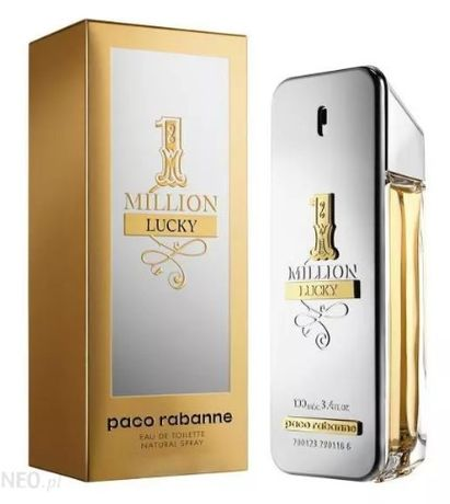 Paco Rabanne One Million Lucky. Perfumy Męskie. EDT. 100 ml. KUP TERAZ
