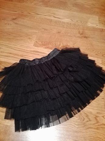 Spódnica ZARA 140 tiul falbanki spódniczka kaskada