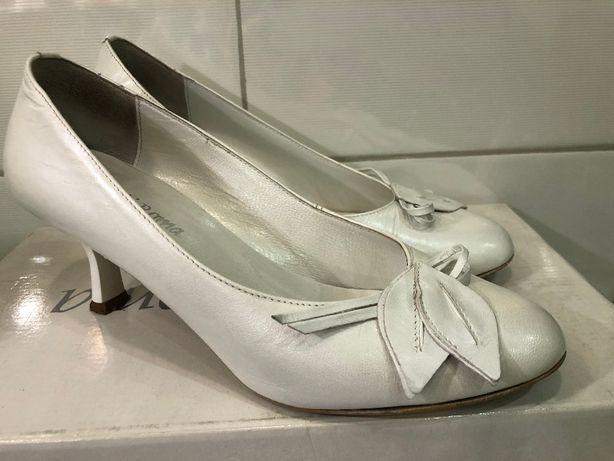 Buty ślubne Arte Di Roma rozmiar 35,5 kolor biały perłowy